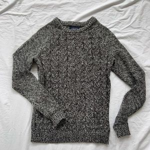 NWT Lands' End Drifter Cable-knit Sweater